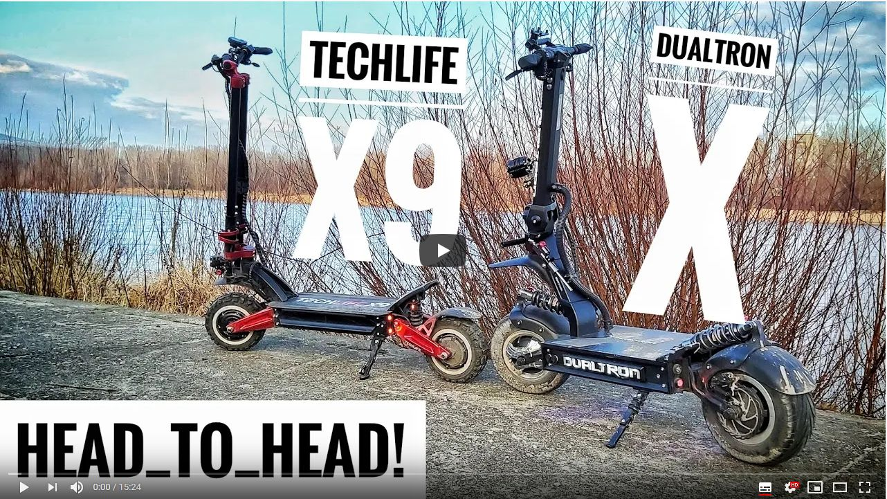 Techlife X9 vs. Dualtron X
